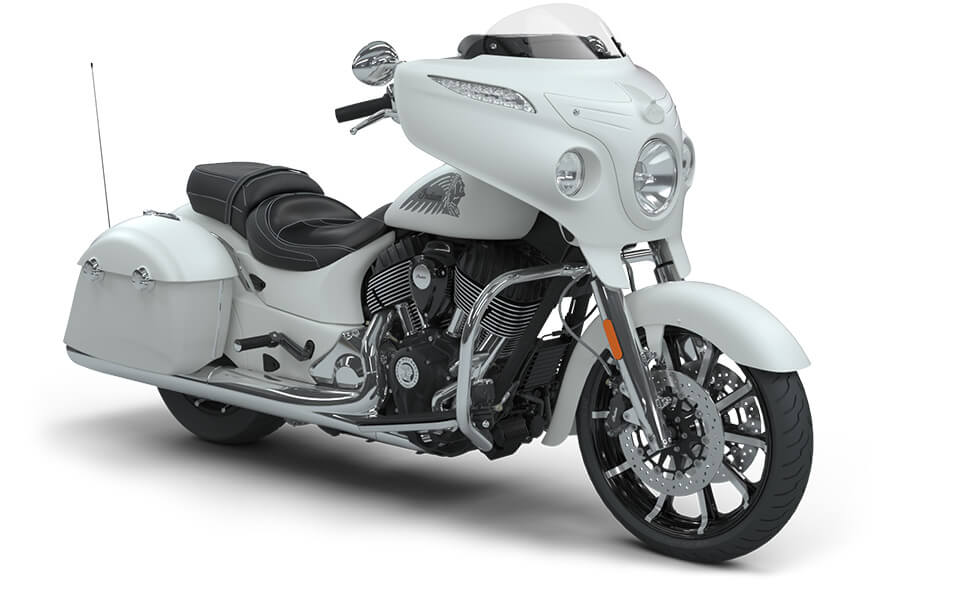 Indian Chieftain Limited White Smoke