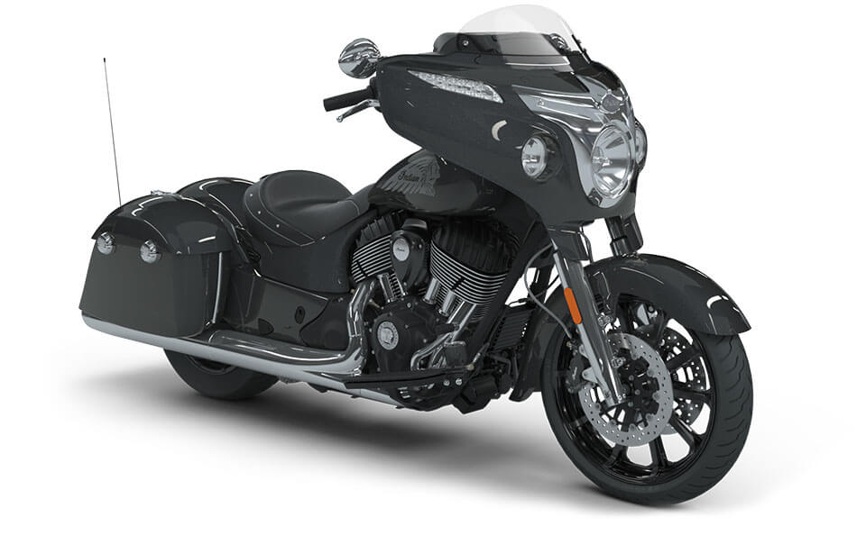 Indian Chieftain Steel Gray