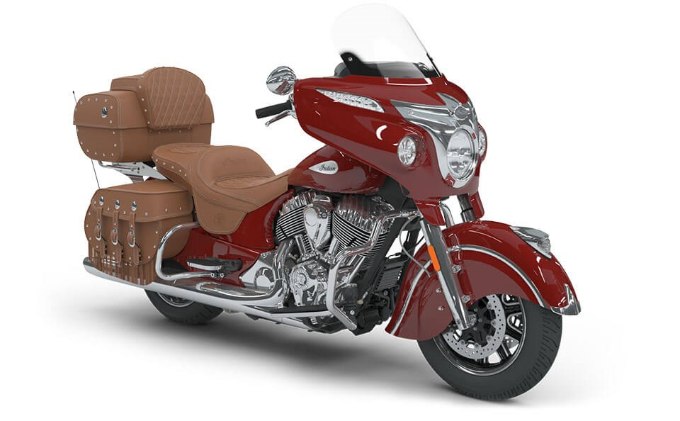 Indian Roadmaster Classic Indian Motorcycle Red