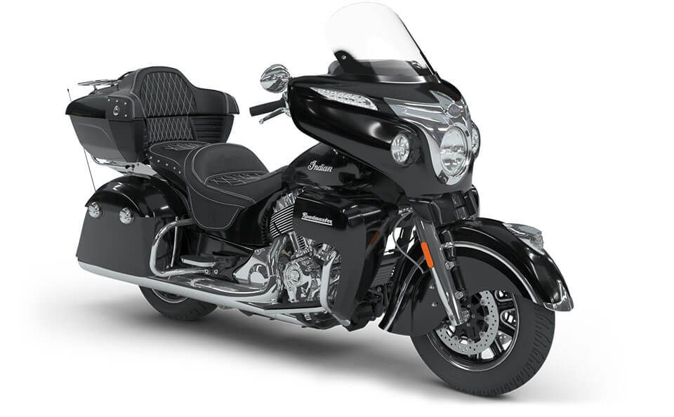 Indian Roadmaster Thunder Black