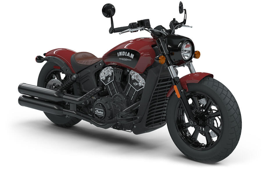 Indian Scout Bobber Indian Motorcycle Red