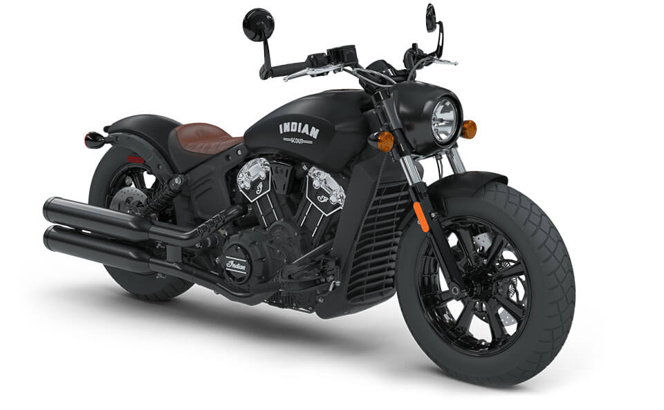 Indian Scout Bobber Thunder Black Smoke