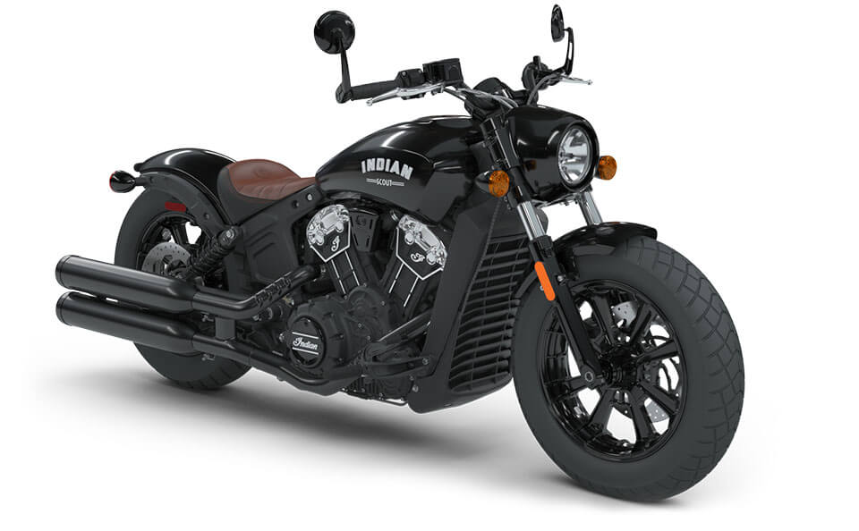 Indian Scout Bobber Thunder Black