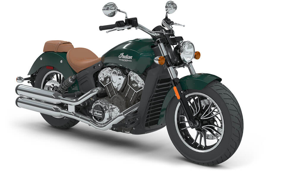 Indian Scout Metallic Jade
