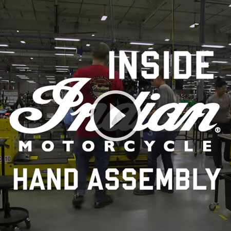 Inside Indian Motorcycle - Assembly