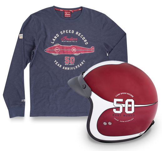 Indian Motorcycles - Burt Munro Apparel Image