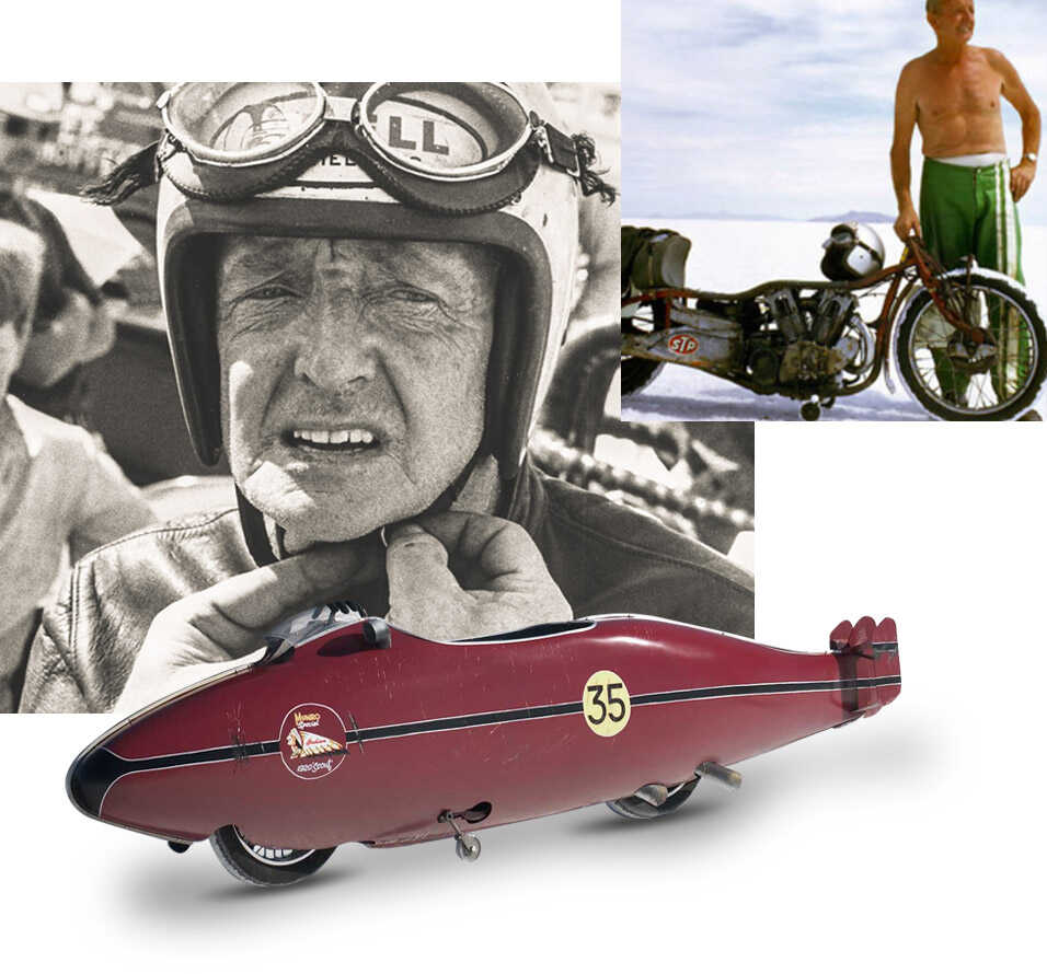 Indian Motorcycle - Who Is Burt Munro Image