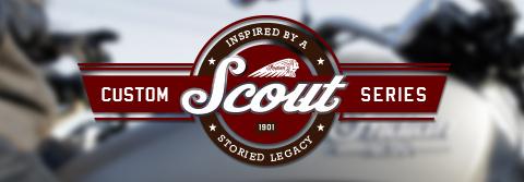 Indian Motorcycle - Custom Scout Hero Image