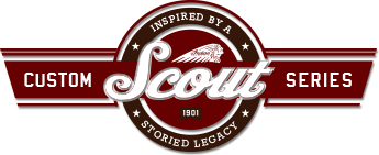 Indian Motorcycle - Hill Climb Scout Series Logo Image