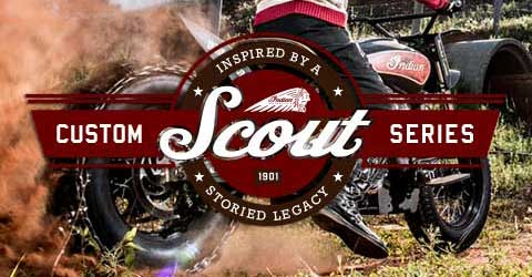 Indian Motorcycle - Hill Climb Scout Background Image