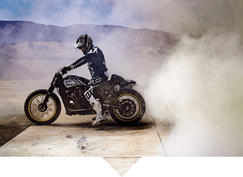 205bbce84 The bond between Carey and riding has never been stronger. Now, he and Indian  Motorcycle have made that connection literal, and everlasting.