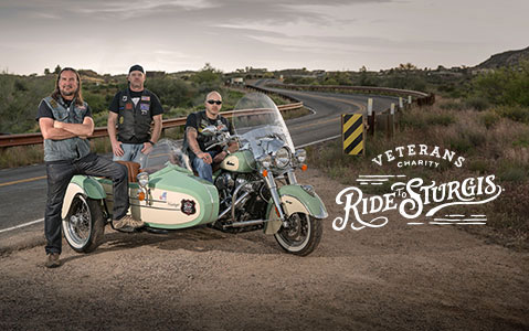 Indian Motorcycle - Military - Veterans Charity Ride Image