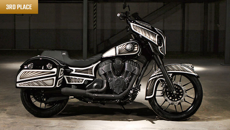 Project Chieftain - Custom Chieftain Dealer Contest | Indian Motorcycle
