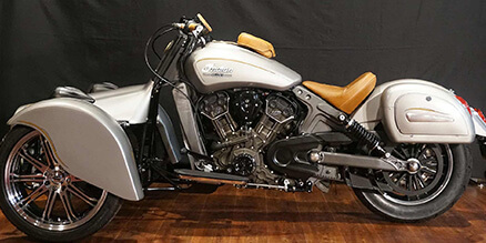 Indian Scout Reverse Trike GT