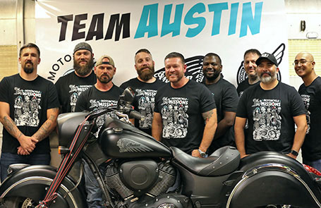 "Indian Motorcycle & Motorcycle Missions Announce Texas-sized ""Motorcycle Therapy"" Build Off"