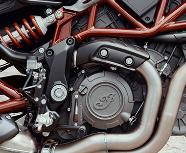 Powerful V-Twin