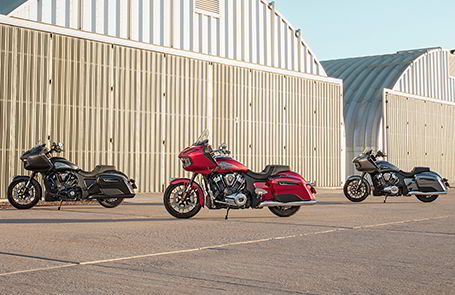 Indian Motorcycle repousse les limites des bicylindres en V américains avec la toute nouvelle Challenger2020