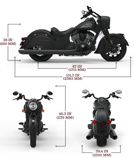 Stand Moto, Lève Moto, Range moto - Dynamoto - Page 2 Chief-dark-horse-specs-xxs