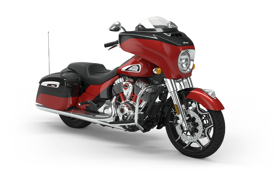 Indian Chieftain Elite Thunder Black Vivid Crystal/Wildfire Red Candy