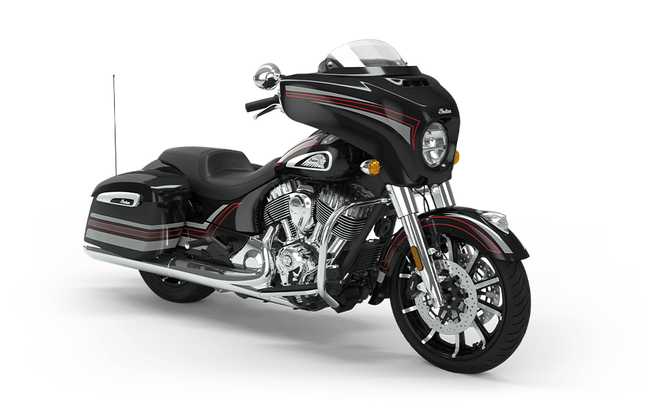 Chieftain Limited Thunder Black w/ Graphics