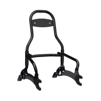12 in. Quick Release Passenger Sissy Bar - Gloss Black