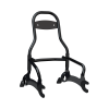 12 in. Quick Release Passenger Sissy Bar - Gloss Black - Image 1 of 6