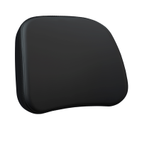 Passenger Backrest Pad - Black