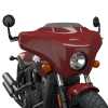 Quick Release Fairing - Indian Motorcycle® Red - Image 4 of 5