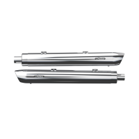 Stage 1 Oval Slip-On Muffler Kit - Chrome