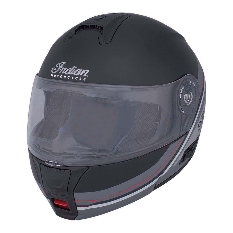 Route Modular (Flip-Up) Indian Motorcycle® Helmet, Black