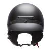 Highway Half Helmet with Sun Peak, Black - Image 2 de 4