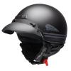 Highway Half Helmet with Sun Peak, Black - Image 1 de 4
