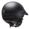 Highway Half Helmet with Sun Peak, Black - Image 3 de 4