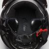 Highway Half Helmet with Sun Peak, Black - Image 4 de 4