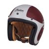 Open Face Munro 50th Helmet, Red/Silver - Image 1 de 13