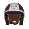 Open Face Munro 50th Helmet, Red/Silver - Image 2 de 13