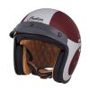 Open Face Munro 50th Helmet, Red/Silver - Image 5 de 13