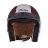 Open Face Munro 50th Helmet, Red/Silver - Image 6 de 13