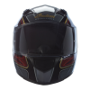 Full Face Outpost Helmet, Red/Black - Image 3 of 7