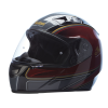 Full Face Outpost Helmet, Red/Black - Image 2 of 7