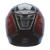 Full Face Outpost Helmet, Red/Black - Image 6 of 7