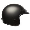 Open Face Retro Helmet, Matte Black - Image 6 of 6