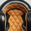 Open Face Retro Helmet, Glossy Black - Image 4 of 7