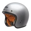 Open Face Retro Helmet, Silver - Image 2 of 7