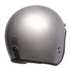Open Face Retro Helmet, Silver - Image 4 of 7