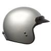 Open Face Retro Helmet, Silver - Image 6 of 7
