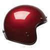 Open Face Retro Helmet, Red - Image 3 of 7