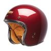 Open Face Retro Helmet, Red - Image 2 of 7