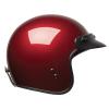 Open Face Retro Helmet, Red - Image 6 of 7