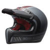 Adventure Helmet with Matte Stripe, Gray/Red  - Image 2 of 15